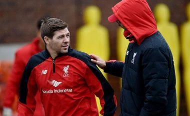 Klopp: Do ta ndihmoj Gerrardin, ai ka të ardhme të madhe si trajner