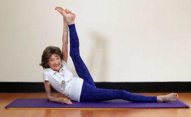 Trajnerja më e moshuar në botë e jogës gjithë jetën i përmbahet një filozofie me të cilën absolutisht çdo gjë është e mundshme