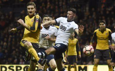 Preston 1-2 Arsenal: Xhaka më i dobëti, Mustafi ndër më të mirët (Foto)