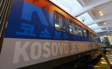 Ky është treni serb që do ta shkelë sovranitetin e Kosovës – brenda dhe jashtë është plot provokime (Foto)