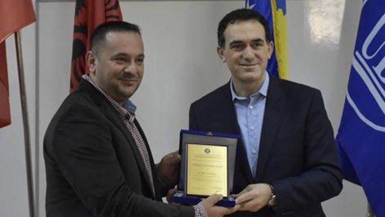 """UBT e nderon me Çmimin """"Excellence Lidership Award"""", Driton Kukën"""