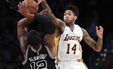 Spurs të fortë për Lakers (Video)