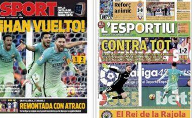 Gazetat katalunase akuzojnë Realin për vjedhje