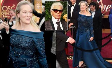 Fustani për Oscar bëhet mollë sherri mes Meryl Streep dhe 'Chanel' (Foto)