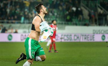 Ajeti nuk ndalet duke shënuar gola