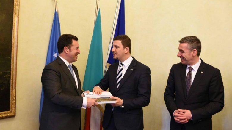 Krasniqi fton bizneset italiane të investojnë në Kosovë