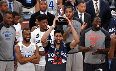 Rekordmeni Anthony Davis, shpallet MVP në 'NBA All-Star'