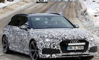 Audi RS4 Avant me motor nga Porsche, kapet gjatë procesit të testimit (Foto)