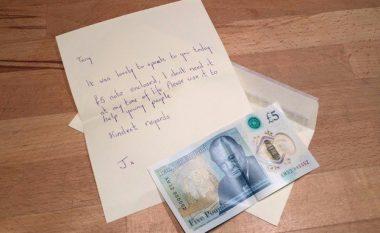 Bankënotën e rrallë në vlerë të 60 mijë eurove, gruaja misterioze e fal për bamirësi (Foto)