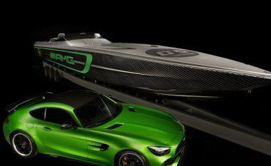 Barkë luksoze me 3,100 kuajfuqi, inspiruar nga Mercedes-AMG GT R (Foto)