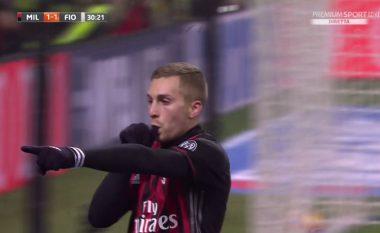 Vjen goli i parë i Deulofeut te Milani dhe është fantastik  (Video)