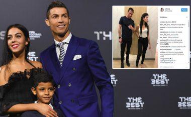 Cristiano Ronaldo i dashuruar dhe tepër xheloz për të dashurën e tij (Foto)