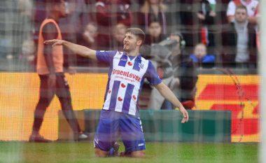 Zeneli feston ditëlindjen me një asistim në fitoren e Heerenveenit (Video)