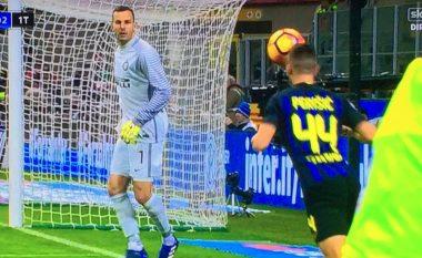 Perisic ndëshkohet me kartonin e verdhë më të pakuptimtë që është parë në Serie A gjatë viteve të fundit (Video)