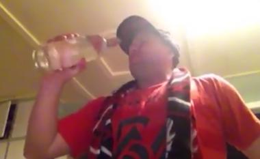 Humb bastin, detyrohet të pi një litër vodkë – brenda minutës (Video)
