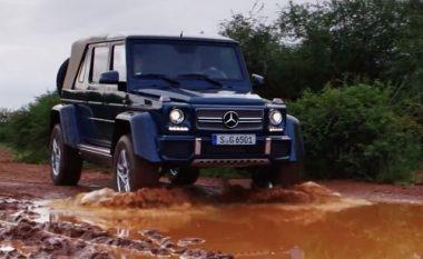 Mercedes-Maybah lëviz me lehtësi edhe nëpër xhungël (Video)