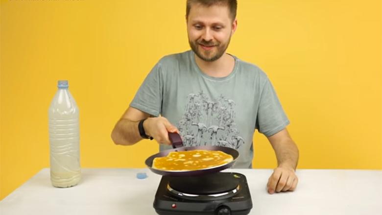 Palpeta nga shishja: Gatim i shpejtë, pa pasur nevojë të lani enë! (Video)