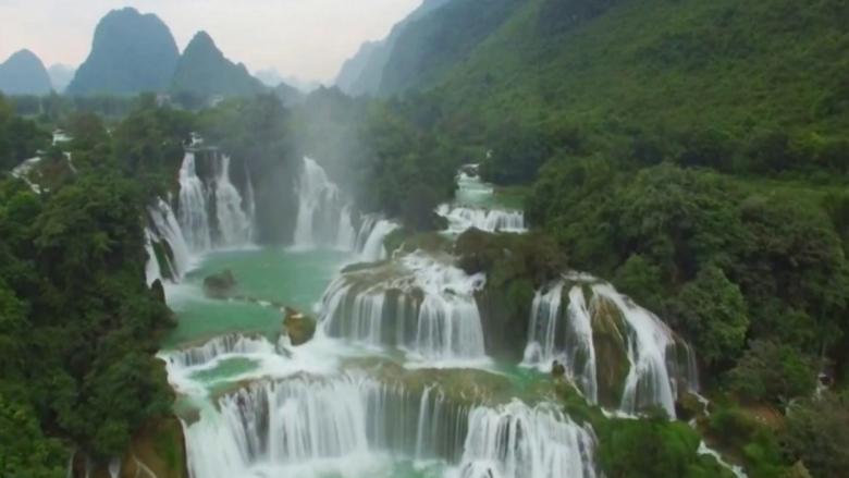 Ban Gioc, ujëvara që të rrëmben mendjen (Video)