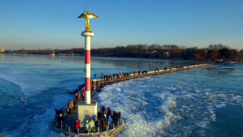 Balaton, ndër liqenet më të bukura në Evropë (Video)