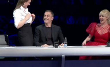 """""""E nxjerr gjoksin sa herë të dua!"""", Albërie Hadërgjonaj ia zbulon Arian Çanit (Foto)"""