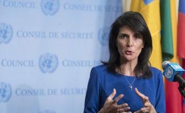 Ambasadorja amerikane në OKB: Në Kosovë duhet të forcohet qeverisja dhe sundimi i ligjit (Video)