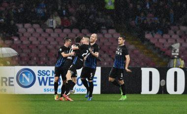 Napoli 0-2 Atalanta: Berisha fantastik, Hysaj me paraqitje solide (Foto)