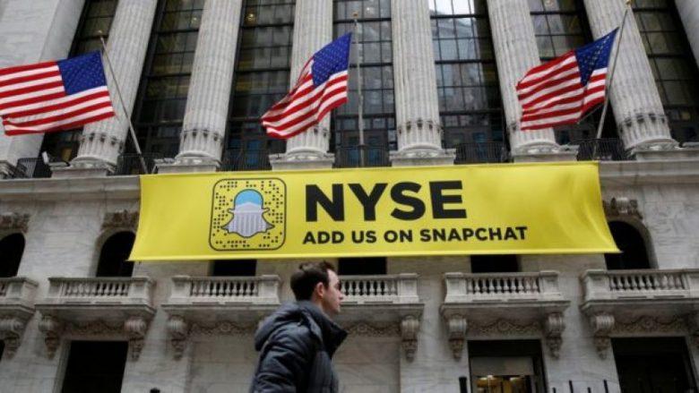 "Snapchat ""thyen"" bursën e Wall Street që në debutim"