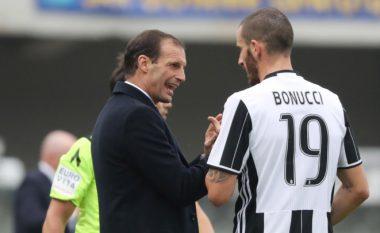 Allegri: Bonucci do ta shikojë ndeshjen nga tribunat