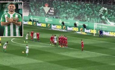 Sevilla fiton derbin ndaj Betisit, por goli i ndeshjes u shënua nga mbrojtësi shqiptar (Video)