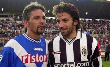 Del Piero: Ëndërroja t'ia bartja çantën Roberto Baggios
