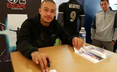 Vetëm pas 33 ditësh që u transferua te Lyoni, Depay theu rekordin e klubin (Foto)