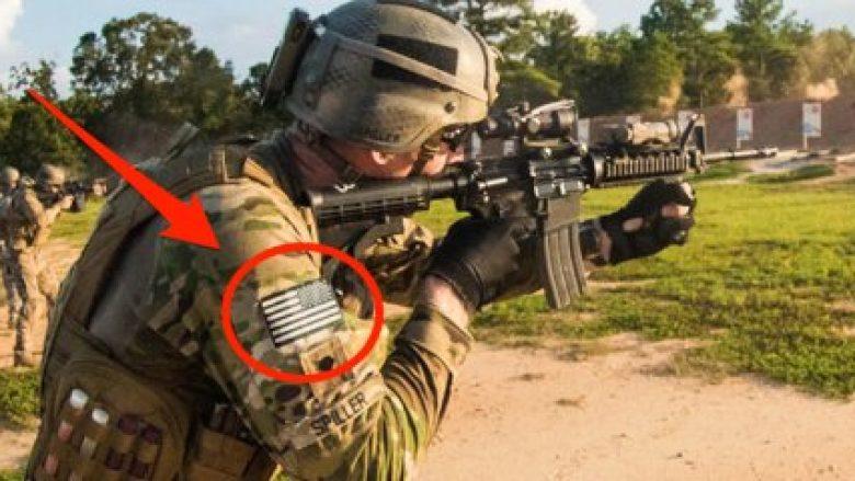 """A e dini pse flamuri amerikan në uniformën ushtarake është i vendosur në """"anën e kundërt""""? (Foto)"""
