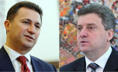 Gruevski sonte në takim sekret me Ivanovin?!