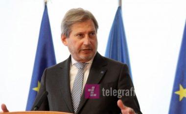 Hahn: Presim që Ivanov t'ia jep mandatin Zaevit