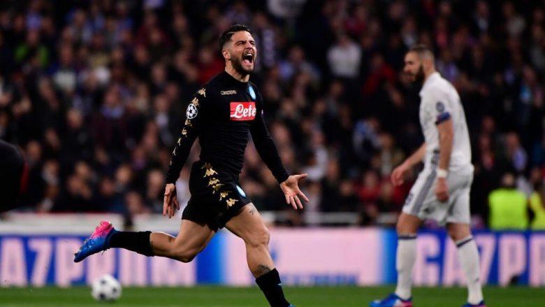 Napoli refuzoi 35 milionë euro nga Milani për Insignen