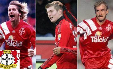 Dhjetë yjet e mëdha të futbollit që kanë veshur fanellën e Bayer Leverkusenit (Foto)