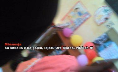 Mësuesja mallkon dhe kërcënon nxënësit në shkollën e Surrelit në Tiranë