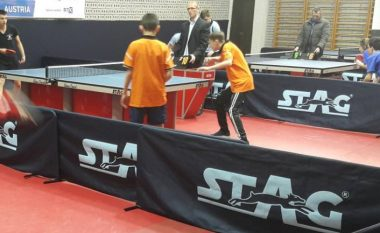  Filloi Liga e Juniorëve në pingpong