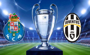 Formacionet zyrtare, Porto – Juventus
