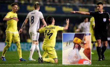 Mësohet çfarë kishte në çantat e gjyqtarëve me logo të Real Madridit (Foto)