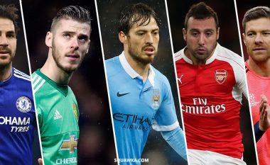 Futbollistët spanjollë që kanë luajtur më shumë ndeshje në histori të Ligës Premier (Foto)