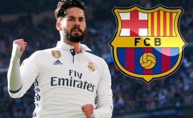 Interesimi i Barçës po bën që Isco mos të rinovojë me Realin