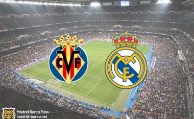 Formacionet zyrtare, Villarreal – Real Madrid