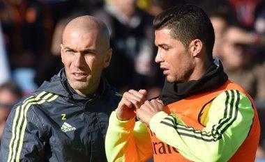 Zidane tregon pozitën e preferuar në fushë të Cristiano Ronaldos
