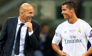 Zidane: Ronaldo preferon të luajë si anësor