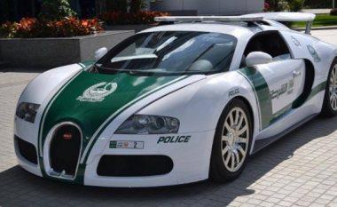 Policet e Dubait patrullojnë me Bugatti Veyron që lëviz me 407 km/h, kurse meshkujt i lusin që të mos u vihen pas (Foto/Video)