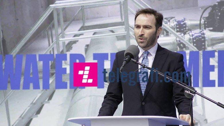 Stavileci: Sot u bë përurimi i investimit më të madh në sektorin e ujërave