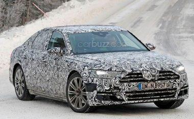 Audi A8 që i sfidon Mercedes S-Class dhe BMW 7, mund ta ketë këtë pamje të mahnitshme (Video)