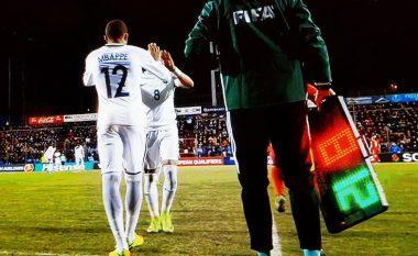 Mbappe bëhet lojtari më i ri që luan për Francën në shekullin XXI (Foto)