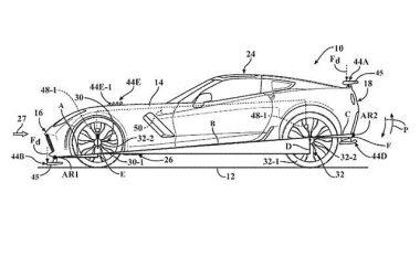Chevrolet patenton sistemin e aerodinamikës që do ta ketë modeli i ri (Foto)